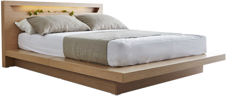 modern bed decor